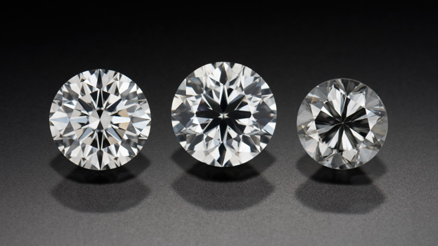 Diamond Cut Quality side by side comparison